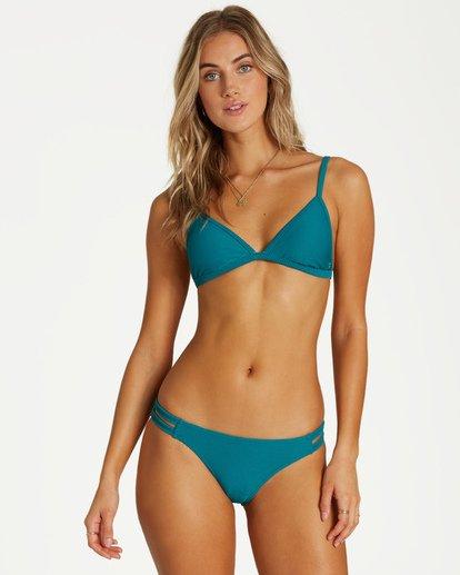 0 Tanlines Fixed Tri Bikini Top Blue XT25VBTA Billabong