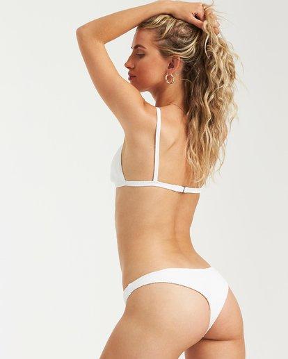 2 Tanlines Fixed Tri Bikini Top White XT25VBTA Billabong