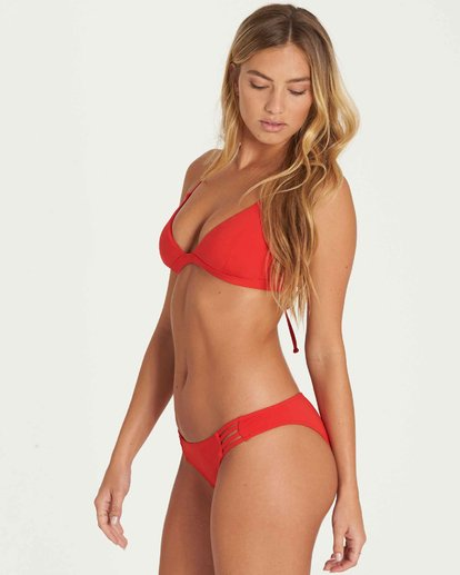1 Sol Searcher Fixed Triangle Bikini Top Red XT27LSOL Billabong