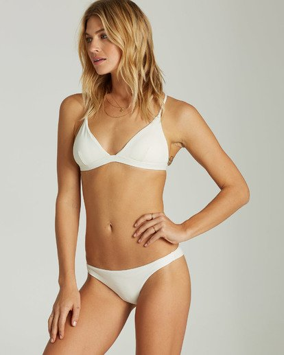 1 Sol Searcher Fixed Triangle Bikini Top White XT27LSOL Billabong