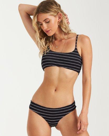 4 Under Palms Mini Crop Bikini Top Black XT27VBUN Billabong