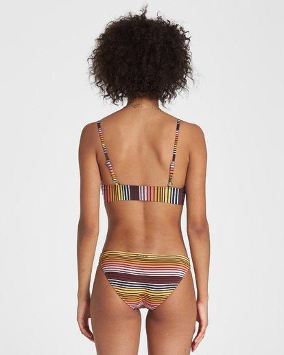 1 Sun Fall V Neck Cami Bikini Top Grey XT27WBSU Billabong