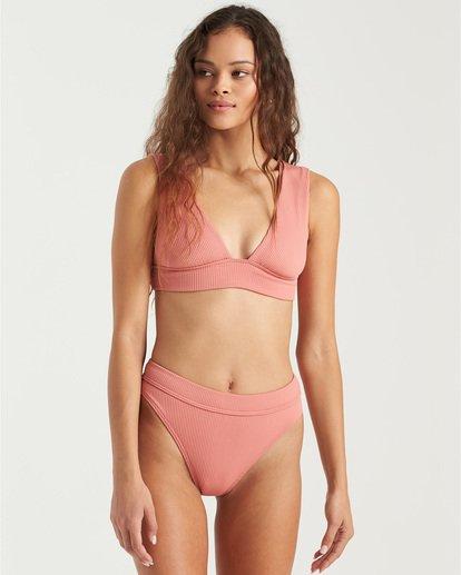 2 Sand Dunes Plunge Bikini Top Grey XT283BSA Billabong