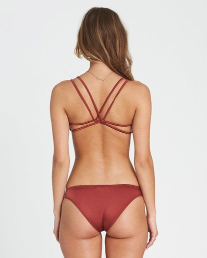 2 Sol Searcher Crossback Bikini Top Red XT29QBSO Billabong