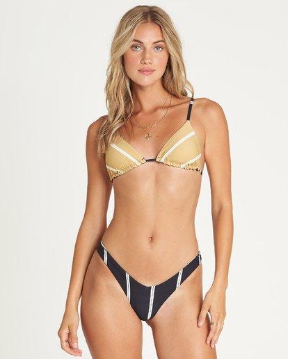 4 Night Tide Slide Tri Reversible Bikini Top  XT30UBNI Billabong