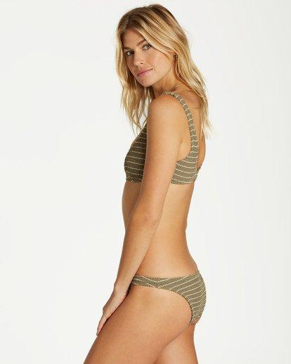 1 Summer High Bralette Bikini Top Green XT34VBSU Billabong