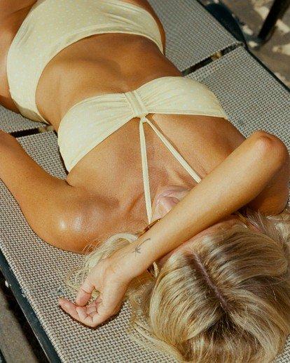 0 Salty Blonde Sundipped Bandeau Bikini Top Pink XT363BSU Billabong