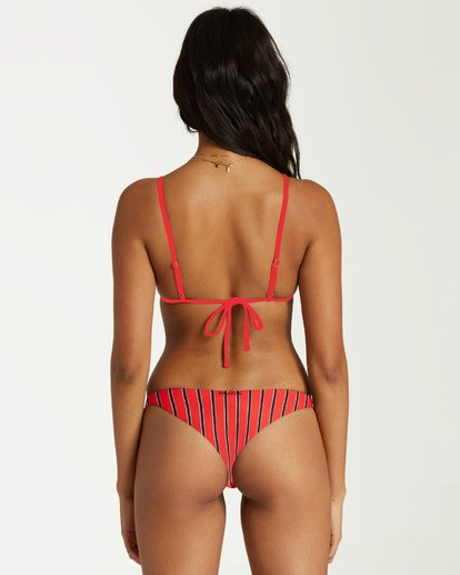 1 Hot For Now Tri Bikini Top Red XT36VBHO Billabong