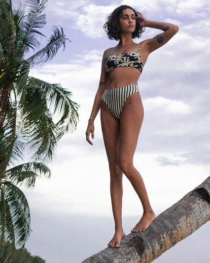 1 Palm Side Reversible Bralette Bikini Top Grey XT372BPA Billabong