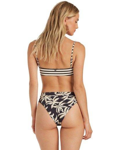 4 Palm Side Reversible Bralette Bikini Top Grey XT372BPA Billabong
