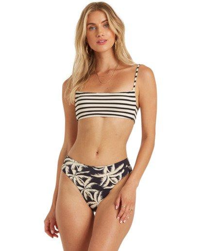 2 Palm Side Reversible Bralette Bikini Top Grey XT372BPA Billabong