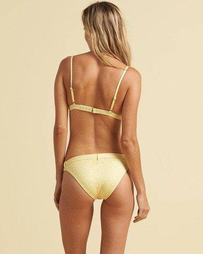 2 Salty Blonde Sundipped Tri Bikini Top Pink XT373BSU Billabong