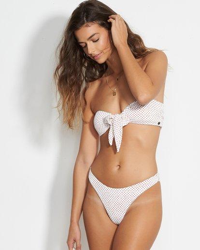1 Candy Bandeau Bikini Top White XT38VBCA Billabong