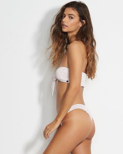 4 Candy Bandeau Bikini Top White XT38VBCA Billabong