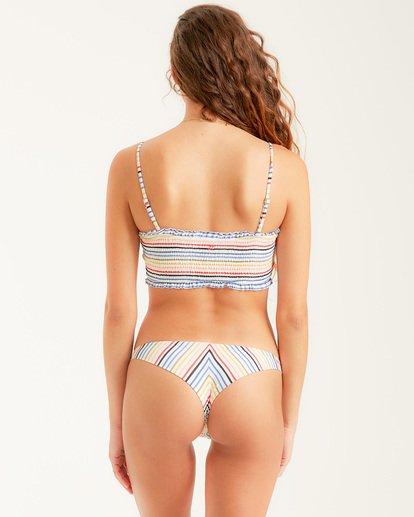 3 Gimme Sun Smock Tube Bikini Top Grey XT462BGI Billabong