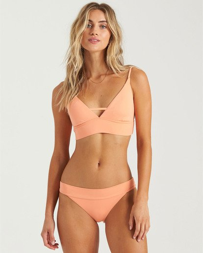 3 Sol Searcher V Cami Bikini Top Red XT463BSO Billabong