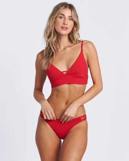 3 Sol Searcher V Cami Bikini Top Red XT463BSO Billabong