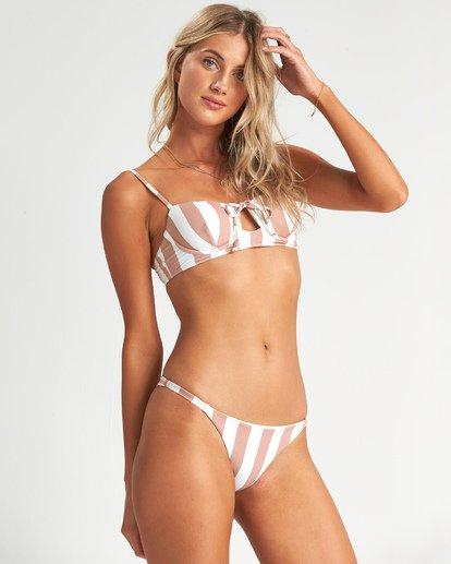 3 Shady Sands Bralette Bikini Top Green XT471BSH Billabong