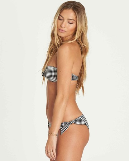 1 Surf Check Bandeau Bikini Top Black XT47PBSU Billabong