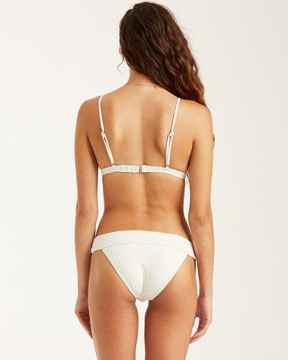 3 Peeky Days Tri Bikini Top White XT522BPE Billabong