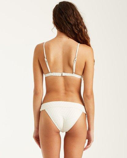 6 Peeky Days Tri Bikini Top White XT522BPE Billabong