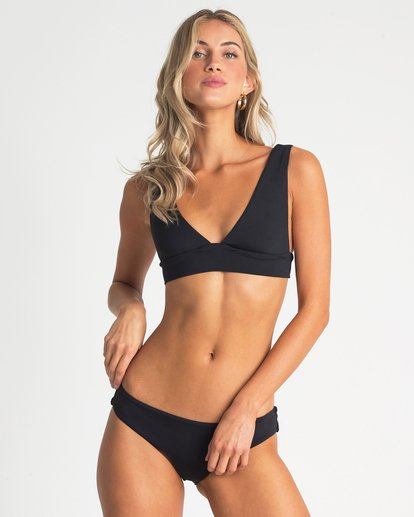 0 Sol Searcher Plunge Bikini Top Black XT53UBSO Billabong