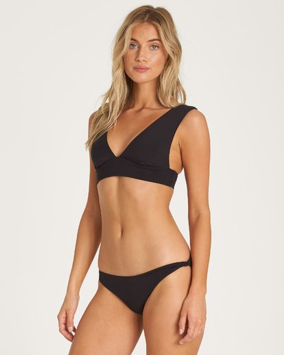 1 Sol Searcher Plunge Bikini Top Black XT53UBSO Billabong