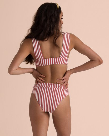 2 Sincerely Jules Dos Palmas Plunge Bikini Top Black XT54TBDO Billabong
