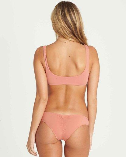 3 Sol Searcher Lace Up Bikini Top Pink XT57PBSO Billabong