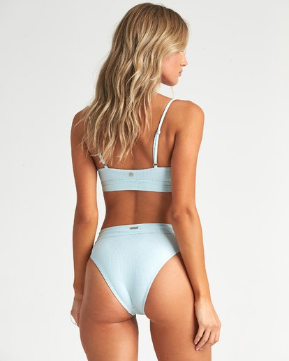 1 Rolling By Crop Bikini Top Blue XT631BRO Billabong