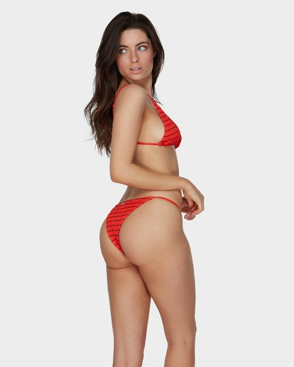 2 Hightide Tri Bikini Top Red XT68SBHI Billabong