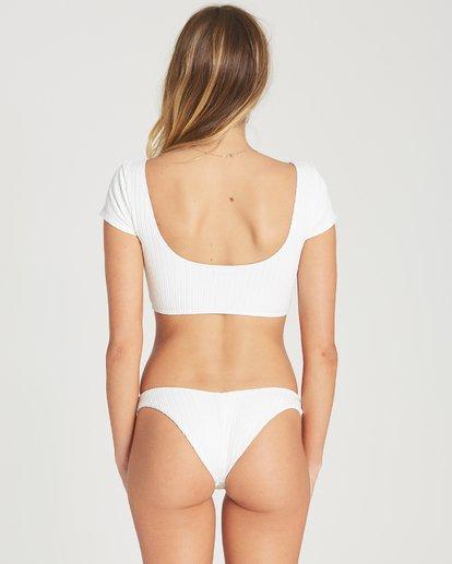 3 Heating Up Crop Bikini Top White XT69TBHE Billabong