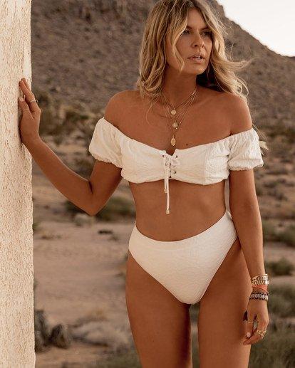 0 Blue Lagoon Bikini Top White XT71SBBL Billabong