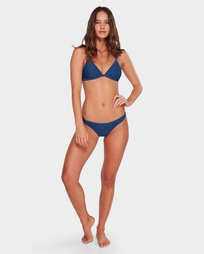 3 Tanlines Fixed Tri Bikini Top Blue XT71WBTA Billabong