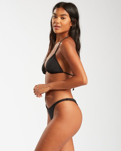 6 Sol Searcher Tri Bikini Top Black XT742BSO Billabong