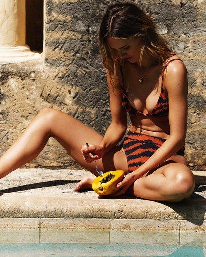 0 Tigress Skimpy Tri Bikini Top Black XT74WBTI Billabong