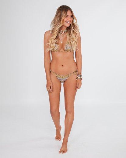 1 Elle Ferguson Castaway Tri Bikini Top Yellow XT80WBCA Billabong