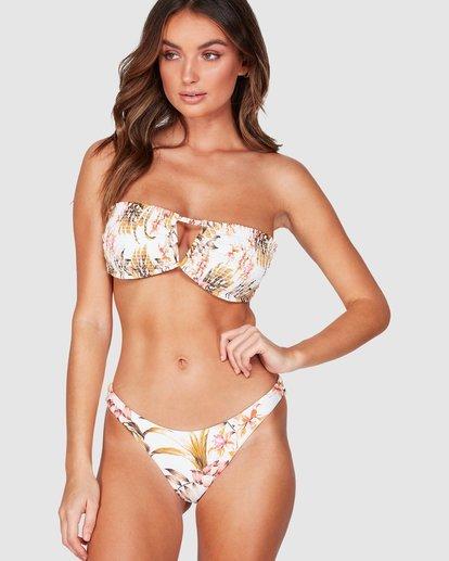 0 Paradiso Bandeau Bikini Top White XT81WBPA Billabong