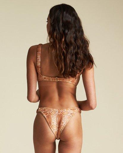 5 Sincerely Jules Over The Sun Bandeau Bikini Top Grey XT911BOV Billabong