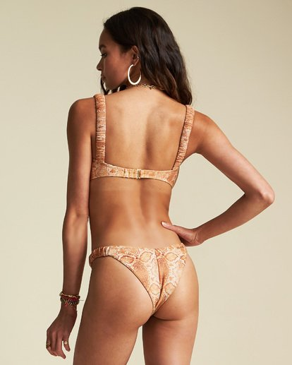 6 Sincerely Jules Over The Sun Bandeau Bikini Top  XT911BOV Billabong
