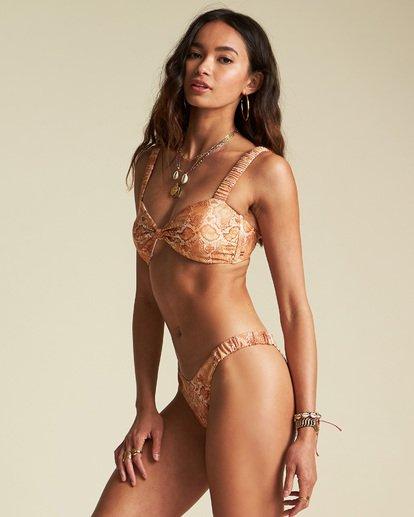 3 Sincerely Jules Over The Sun Bandeau Bikini Top  XT911BOV Billabong