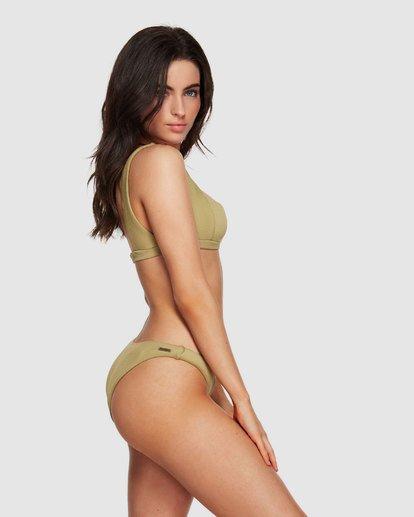 2 Sand Dunes Square Bikini Top Green XT95VBSA Billabong