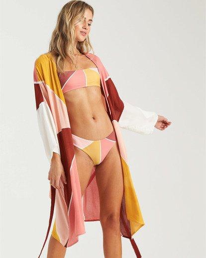 2 Another Sky Kimono Robe Grey XV013BAN Billabong