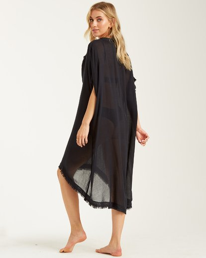 2 Found Love Cover Up Black XV01TBFO Billabong