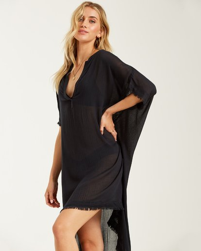 1 Found Love Cover Up Black XV01TBFO Billabong