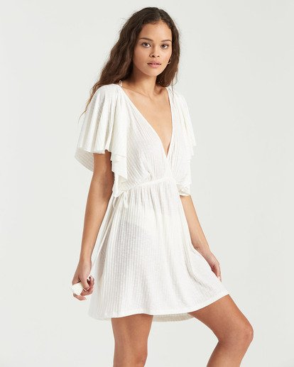 1 Short Tides Dress White XV023BSH Billabong