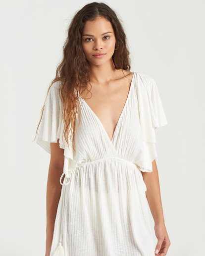 3 Short Tides Dress White XV023BSH Billabong