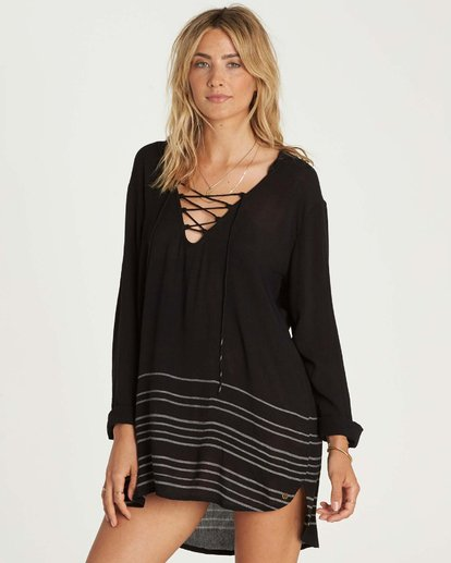 1 Same Story Hooded Cover Up  XV02NBSA Billabong