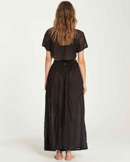 3 Back In Five Wide Leg Pant Black XV02QBBA Billabong