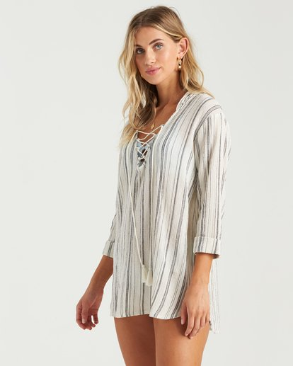 2 Same Story Dress White XV033BSA Billabong